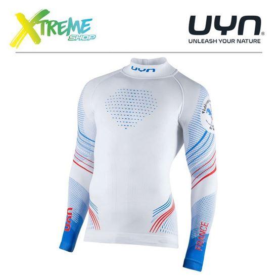 Koszulka UYN NATYON 2.0 FRANCE UNDERWEAR SHIRT LONG SLEEVES TURTLE NECK 1
