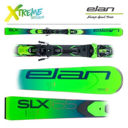 Narty Elan SLX 2021 + Wiązania EMX 12