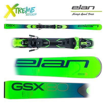 Narty Elan GSX 2021 + Wiązania EMX 12