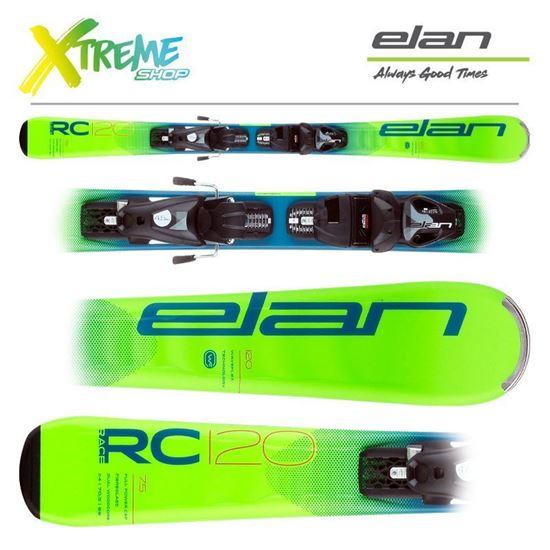Narty Elan RC RACE 2021 Green + Wiązania EL 7.5