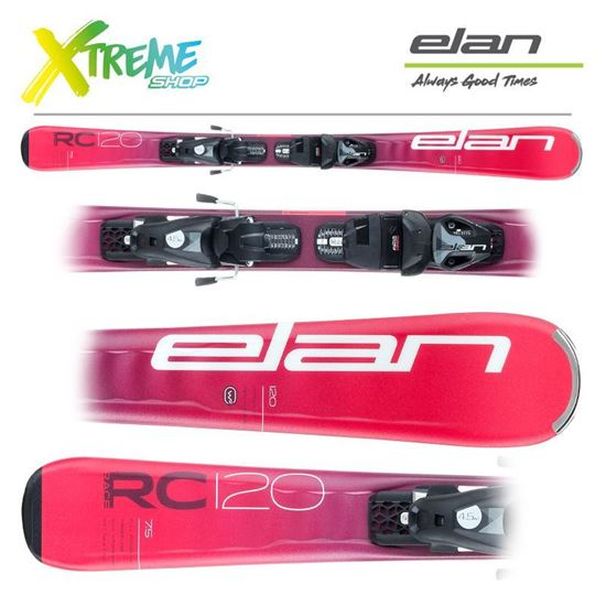 Narty Elan RC RACE 2021 Red + Wiązania EL 7.5