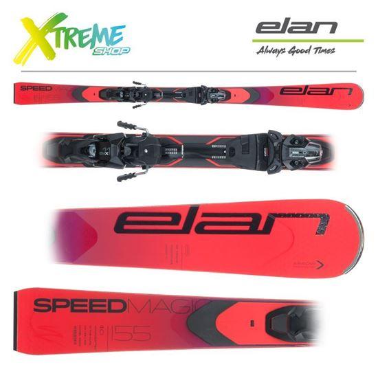 Narty Elan SPEED MAGIC 2021 + Wiązania EMX 11