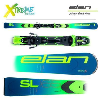 Narty Elan SL 2021 + Wiązania EMX 11