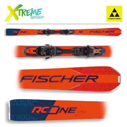 Narty Fischer RC ONE 72 2021 + Wiązania RSX 12 GW