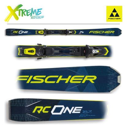 Narty Fischer RC ONE 74 2021 + Wiązania RS 10 GW