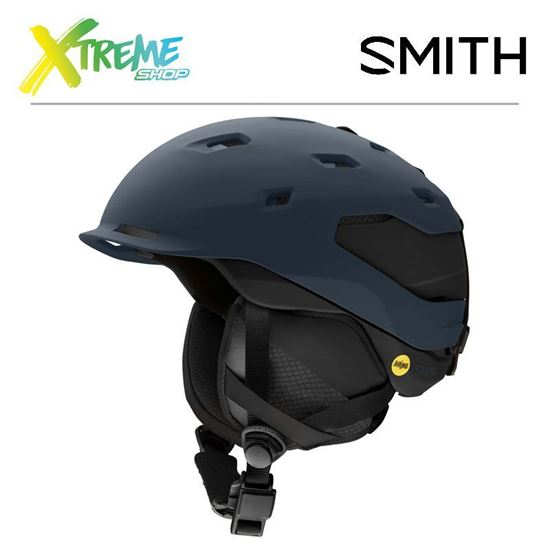 Kask Smith QUANTUM MIPS Matte French Navy / Black