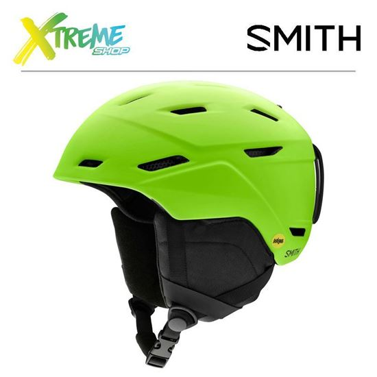 Kask Smith MISSION MIPS Matte Limelight