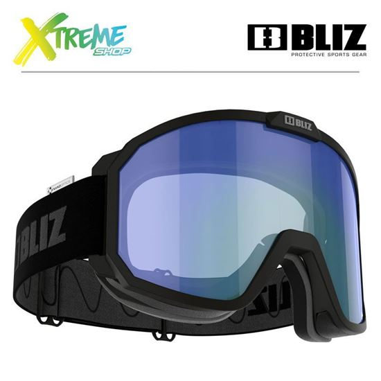 Gogle Bliz RAVE Matt Black - Nano Optics Photochromic 42180-13P 1